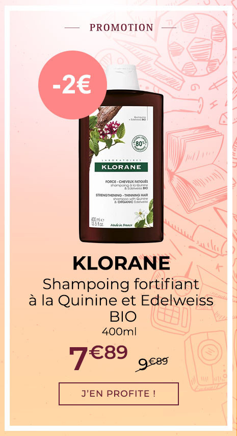 KLORANE SHAMPOING FORTIFIANT