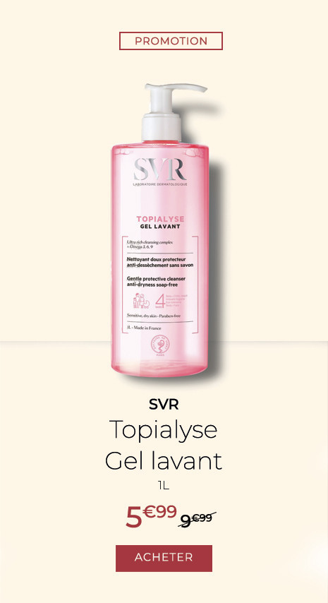 SVR Topialyse Gel lavant, 1 litre