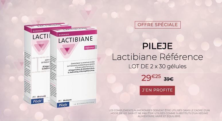 Pileje- Lactibiane Référence  2X30 gélules