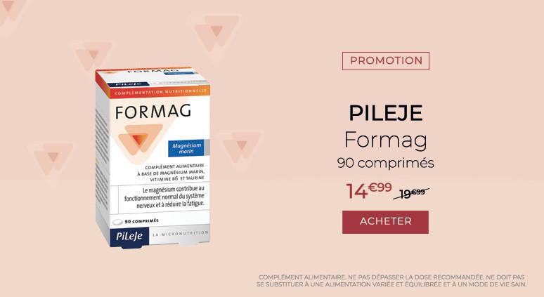 Pileje Formag - 90 comprimés