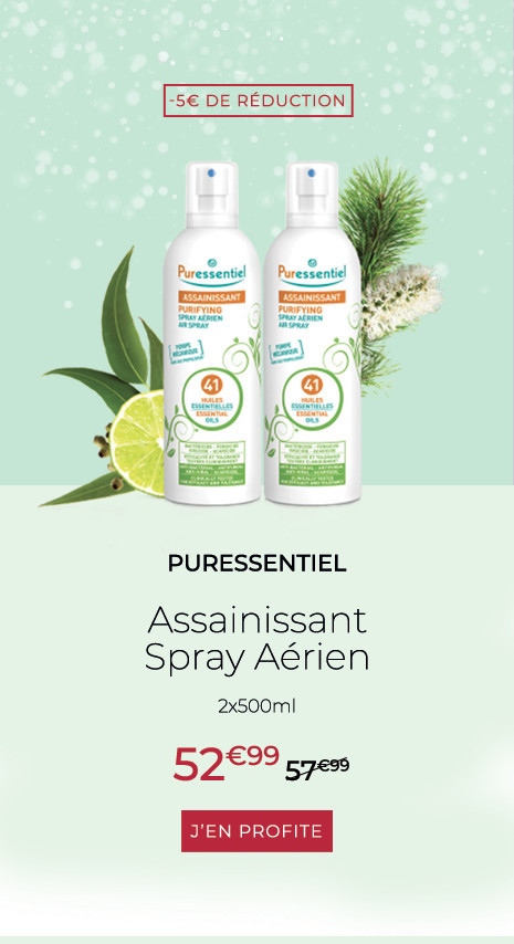 PURESSENTIEL Assainissant Spray Aérien - 2x500ml